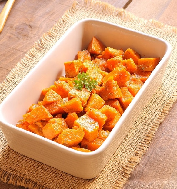 Spicy sweet potato