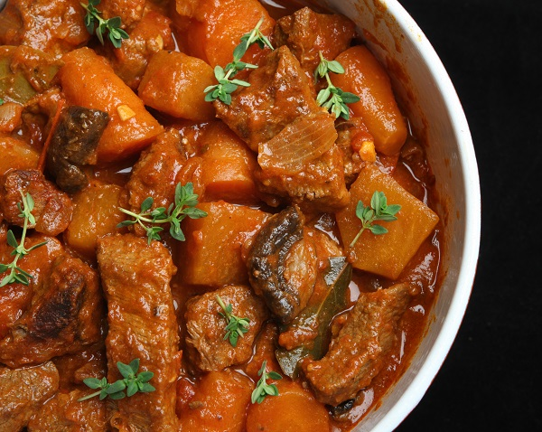 Beef stew with vegetables